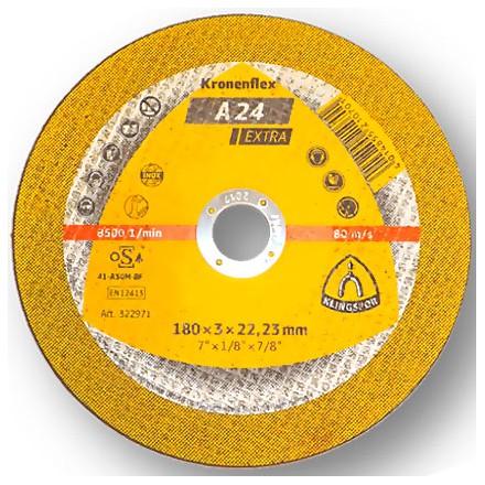 """DISCO CORTE 7"""" 3mm A24 EXTRA KLINGSPOR"""