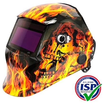 Máscara fotosensible MyH mod. Fire