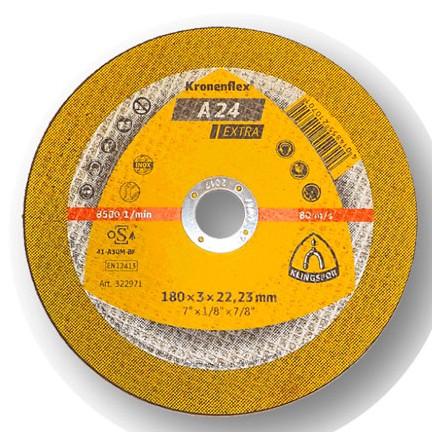 """DISCO CORTE 4.1/2"""" 2,5mm A24 EXTRA KLINGSPOR"""